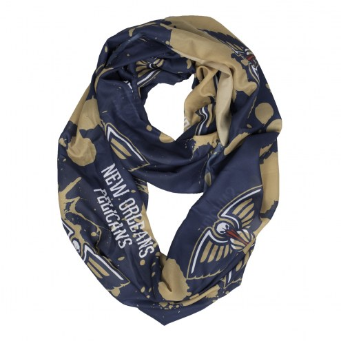 New Orleans Pelicans Silky Infinity Scarf