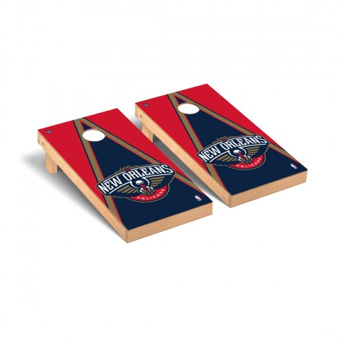 New Orleans Pelicans Triangle Cornhole Game Set