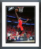 New Orleans Pelicans Tyreke Evans Playoff Action Framed Photo