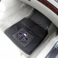 New Orleans Pelicans Vinyl 2-Piece Car Floor Mats