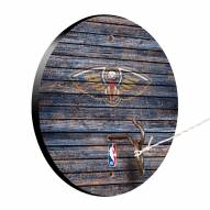 New Orleans Pelicans Weathered Design Hook & Ring Game