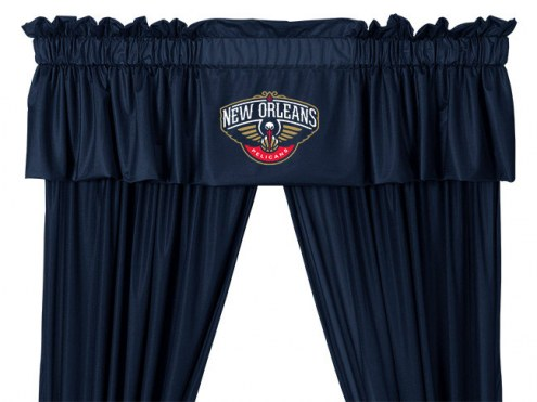 New Orleans Pelicans Window Valance