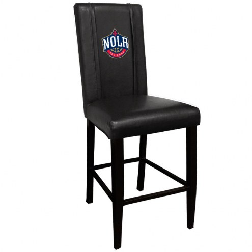 New Orleans Pelicans XZipit Bar Stool 2000 with NOLA Logo