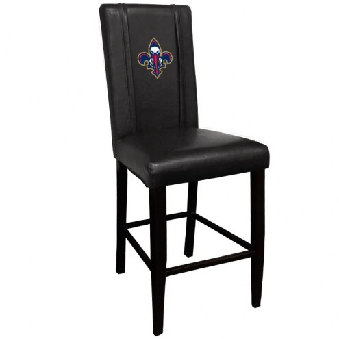 New Orleans Pelicans XZipit Bar Stool 2000 with Secondary Logo