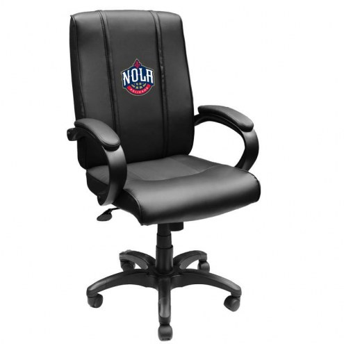 New Orleans Pelicans XZipit Office Chair 1000 with NOLA Logo