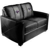New Orleans Pelicans XZipit Silver Loveseat with Secondary Logo