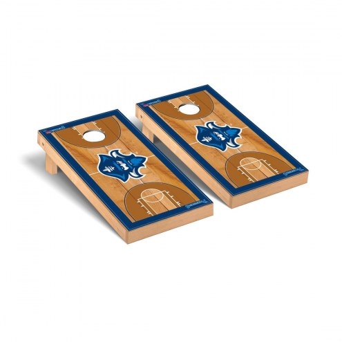 New Orleans Privateers Basketball Court Cornhole Game Set
