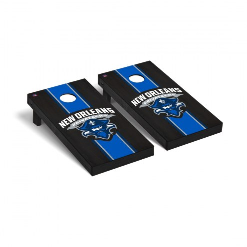 New Orleans Privateers Onyx Stained Cornhole Game Set