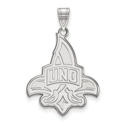 New Orleans Privateers Sterling Silver Extra Large Pendant