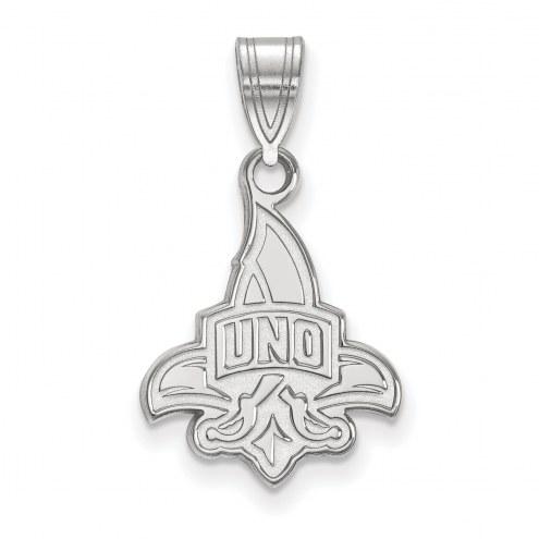 New Orleans Privateers Sterling Silver Medium Pendant