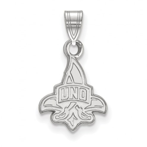 New Orleans Privateers Sterling Silver Small Pendant
