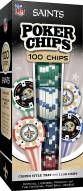 New Orleans Saints 100 Poker Chips