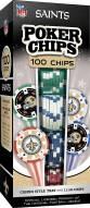 New Orleans Saints 100 Poker Chips