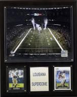 "New Orleans Saints 12"" x 15"" Stadium Plaque"