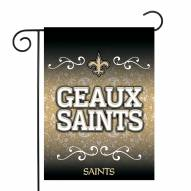 "New Orleans Saints 13"" x 18"" Garden Flag"