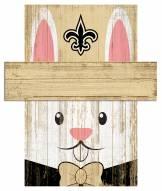 "New Orleans Saints 19"" x 16"" Easter Bunny Head"