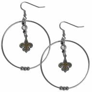 "New Orleans Saints 2"" Hoop Earrings"