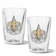 New Orleans Saints 2 oz. Prism Shot Glass Set