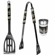 New Orleans Saints 2 Piece BBQ Set with Season Shaker