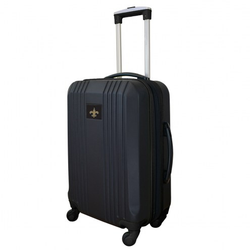 """New Orleans Saints 21"""" Hardcase Luggage Carry-on Spinner"""