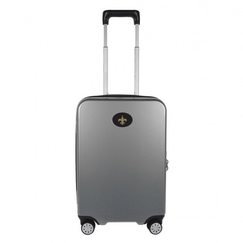 """New Orleans Saints 22"""" Hardcase Luggage Carry-on Spinner"""