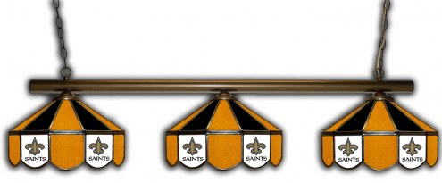 New Orleans Saints 3 Shade Pool Table Light