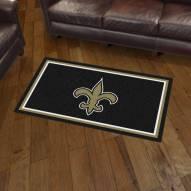 New Orleans Saints 3' x 5' Area Rug