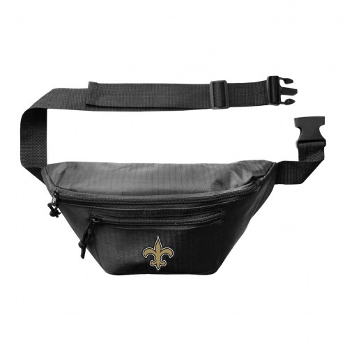 New Orleans Saints 3-Zip Hip Fanny Pack