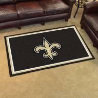 New Orleans Saints 4' x 6' Area Rug