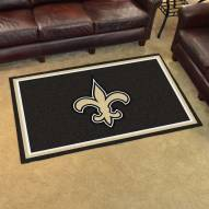 New Orleans Saints 4' x 6' Area Rug