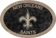 "New Orleans Saints 46"" Team Color Oval Sign"