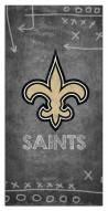 "New Orleans Saints 6"" x 12"" Chalk Playbook Sign"