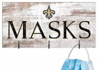 "New Orleans Saints 6"" x 12"" Mask Holder"