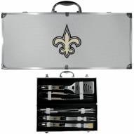 New Orleans Saints 8 Piece Tailgater BBQ Set