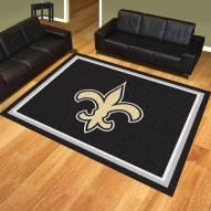 New Orleans Saints 8' x 10' Area Rug