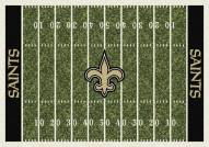 New Orleans Saints 8' x 11' NFL Home Field Area Rug