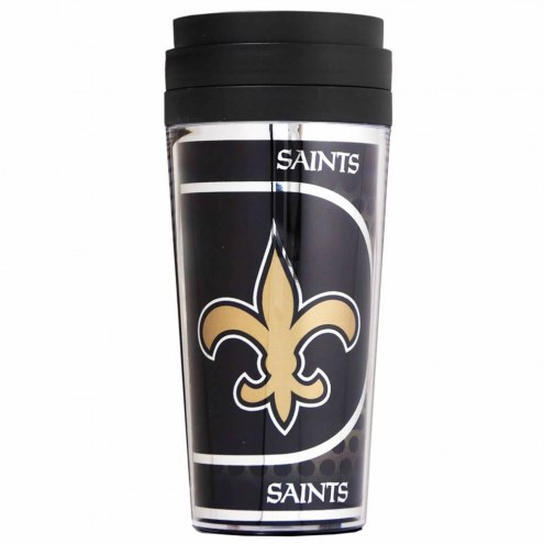 New Orleans Saints Acrylic Travel Tumbler