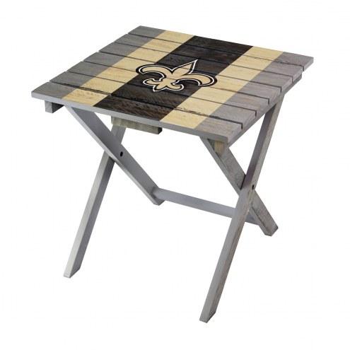 New Orleans Saints Adirondack Folding Table