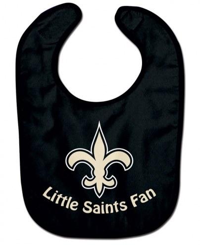 New Orleans Saints All Pro Little Fan Baby Bib