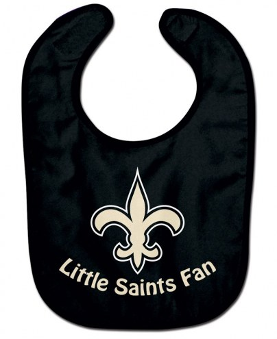 New Orleans Saints All Pro Little Fan Baby Bib