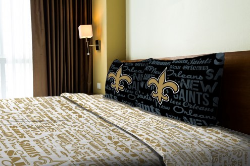 New Orleans Saints Anthem Full Bed Sheets