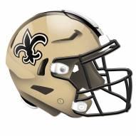 New Orleans Saints Authentic Helmet Cutout Sign