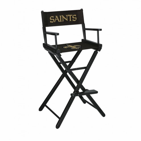 New Orleans Saints Bar Height Director's Chair
