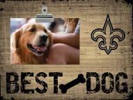 New Orleans Saints Best Dog Clip Frame