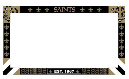 New Orleans Saints Big Game TV Frame
