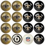 New Orleans Saints Billiard Balls