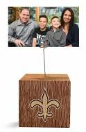 New Orleans Saints Block Spiral Photo Holder