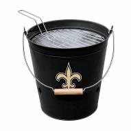 New Orleans Saints Bucket Grill