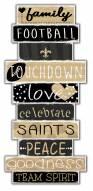 New Orleans Saints Celebrations Stack Sign