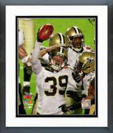 New Orleans Saints Chris Reis Super Bowl XLIV Action Framed Photo